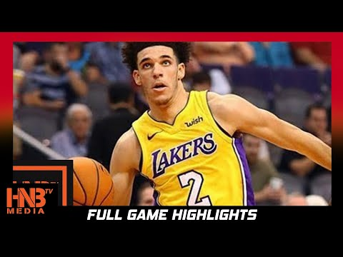 Toronto Raptors vs Los Angeles Lakers Full Game Highlights / Week 2 / 2017 NBA Season