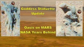 Goddess Update - Oasis on Mars - NASA Years Behind - ArtAlienTV