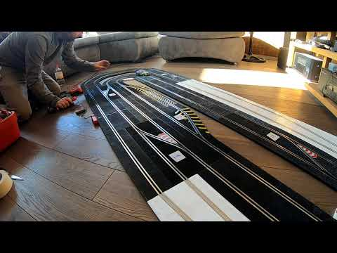 Slot Cars – Ninco N-Digital slot car track Multi Lane & Pit Lane test