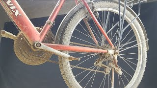 RESTORATION - Old And Rusted Bicycle Restoration - Complete Restoring Bicycle