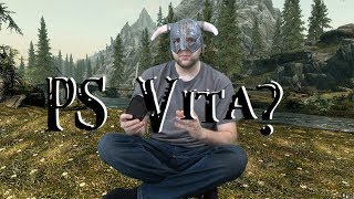 PS Vita. Can it Skyrim? (PC Version)