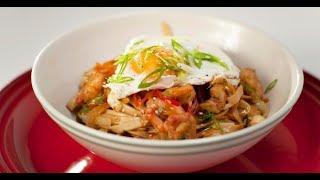 Лапша с креветками, овощами и яйцом | Дежурный по кухне