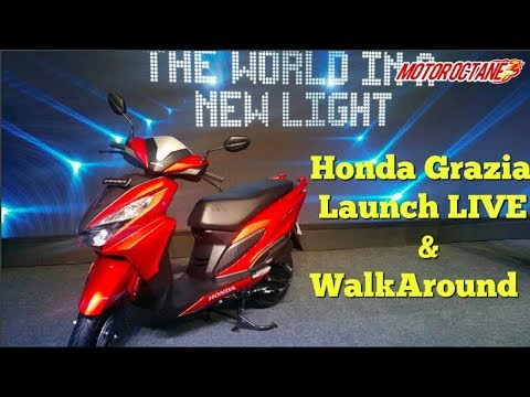 Honda Grazia Launch LIVE and Walkaround