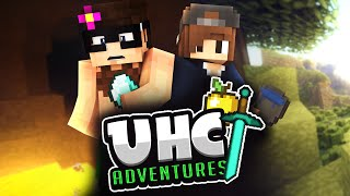 Minecraft UHC Adventures #1: The Dynamic Duo! (w/ Huahwi & Curtis)