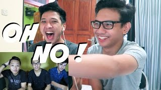 REACT (ROASTING) VIDEO PERTAMA KITA !! :(