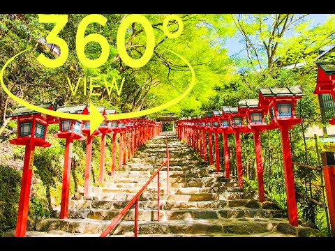 [360°Video(VR)] Kifune Shrine Kyoto / 貴船神社 京都