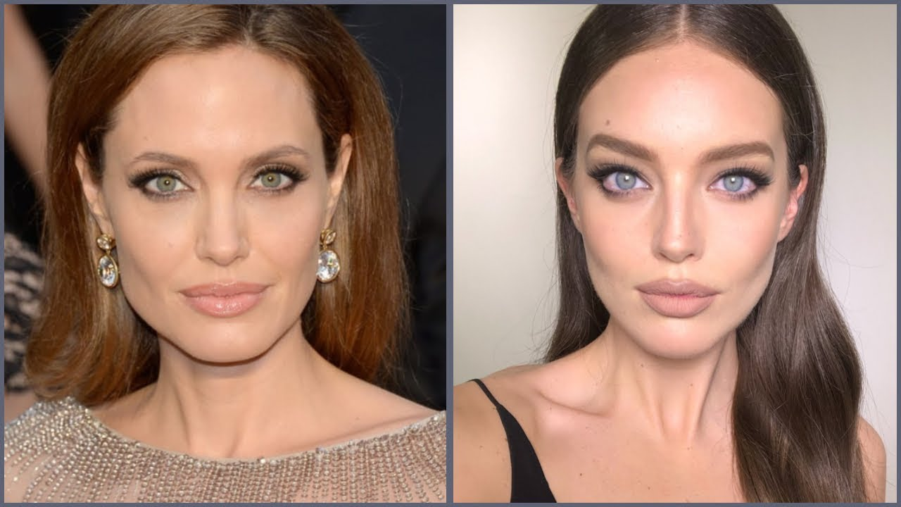 Angelina Jolie Real Nude Pics angelina jolie makeup tutorial! | emily didonato + erin parsons
