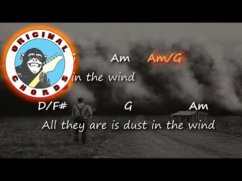 Kansas - Dust In The Wind - Chords & Lyrics