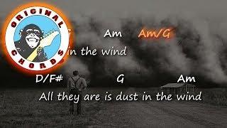 Kansas - Dust In The Wind - Chords & Lyrics