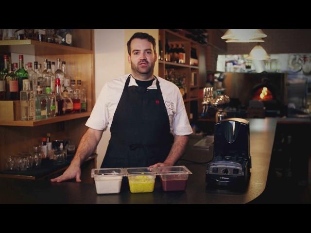 Chef Matt Hyland at Emily I Rhode Island Style Calamari