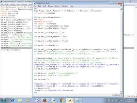 24_python security (mechanize & login Facebook script)