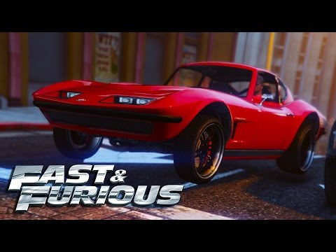 fast and furious 8 letty 39 s stingray car build gta 5 youtube. Black Bedroom Furniture Sets. Home Design Ideas