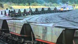 Merry Go Round - trains discharge  coal at power station