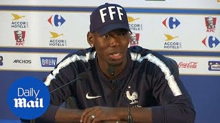 Mid-fielder Paul Pogba says this might be his last World Cup