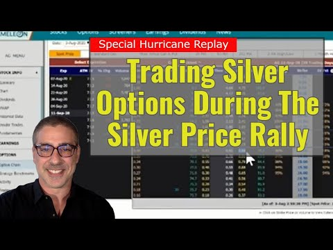 Special Replay: Trading Silver Options During The Silver Price Rally