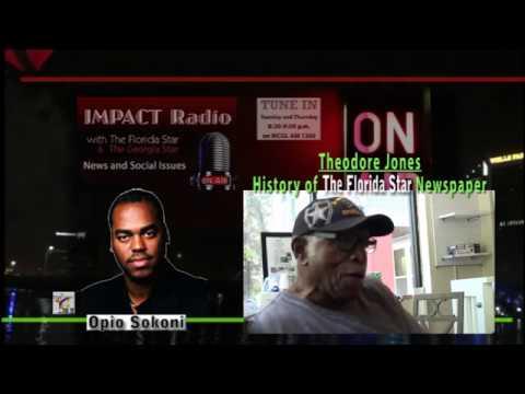 Impact: The Florida Star's First Printing - Opio Interviews Theodore Jones
