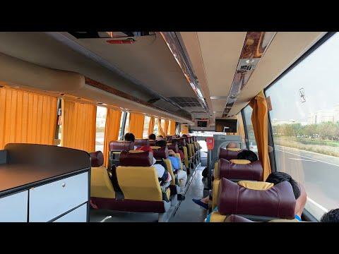 Dubai Live - на рейсовом автобусе Дубаи- Абу-Даби по Абу-Даби