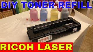 ricoh Laser Printer Toner Refill SP C250DN