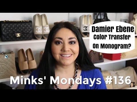 Minks' Mondays #136   Damier Ebene Color Transfer on Monogram