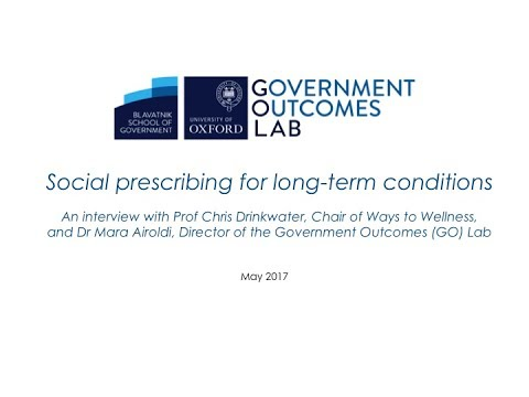 GO Lab - Social prescribing for long-term conditions
