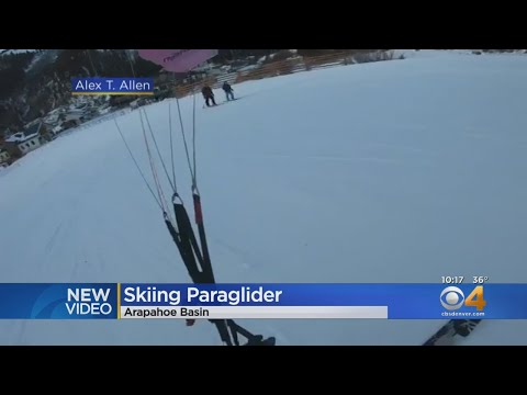 Your Morning Show - Skiing is so 2018...  Paraskiing is the future