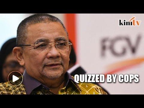 Isa Samad quizzed at Bukit Aman