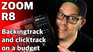 Backingtrack and clicktrack for a band on a budget with the Zoom R8 tutorial