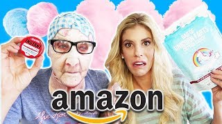 Testing Crazy Amazon Products (Unicorn Farts, Instant Items, Fluffy Slime, Face Mask)