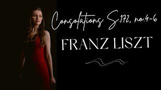 Angela Otcuoglu - Liszt Consolations S.172, no.4-6