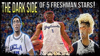 THE DARK SIDE OF 5 FRESHMAN COLLEGE BASKETBALL STARS! LI'ANGELO BALL, BILLY PRESTON, BRIAN BOWEN etc