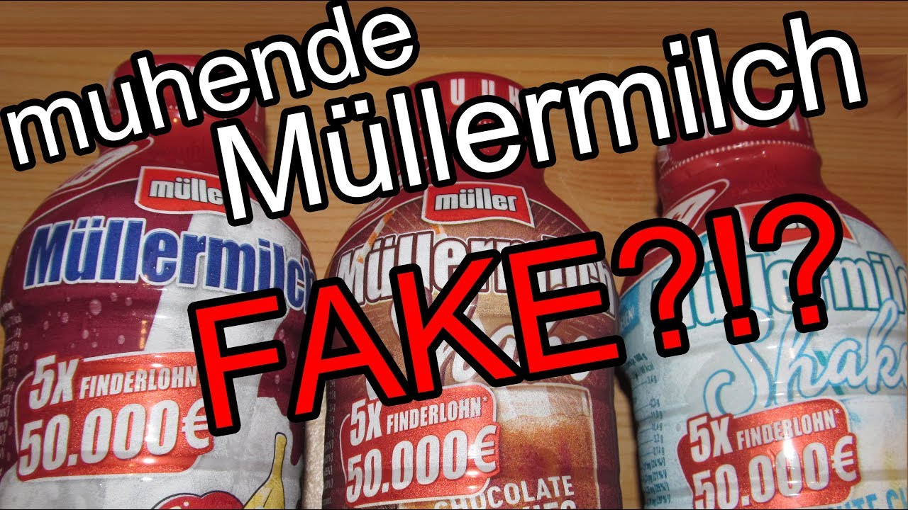 MГјller Milch Muh Gewinner 2020