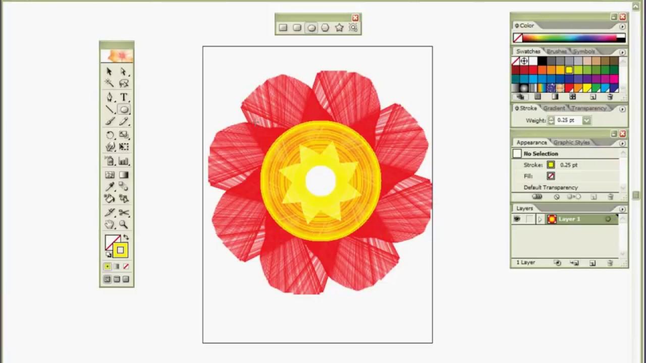 How to draw isometric hemisphere in adobe illustrator tutorial.