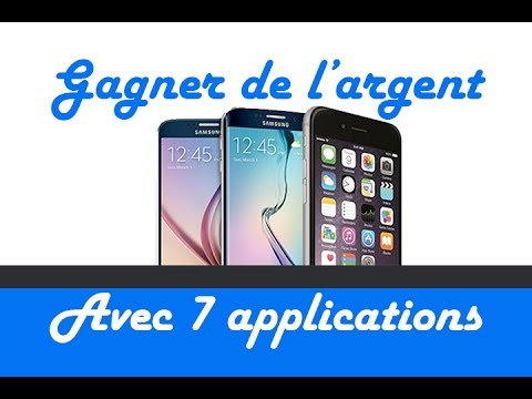 top 7 des applis pour gagner de l 39 argent paypal avec son smartphone youtube. Black Bedroom Furniture Sets. Home Design Ideas