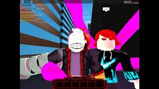 playing roblox with my friends and mos tran do mi kakun