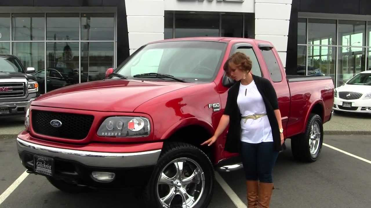 Virtual walk around tour of a 1999 ford f 150 triton v8 at gilchrist buick gmc in tacoma gt2295c