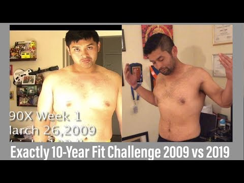 Epic #10YEARCHALLENGE maintaining P90X WEIGHT LOSS and fitness