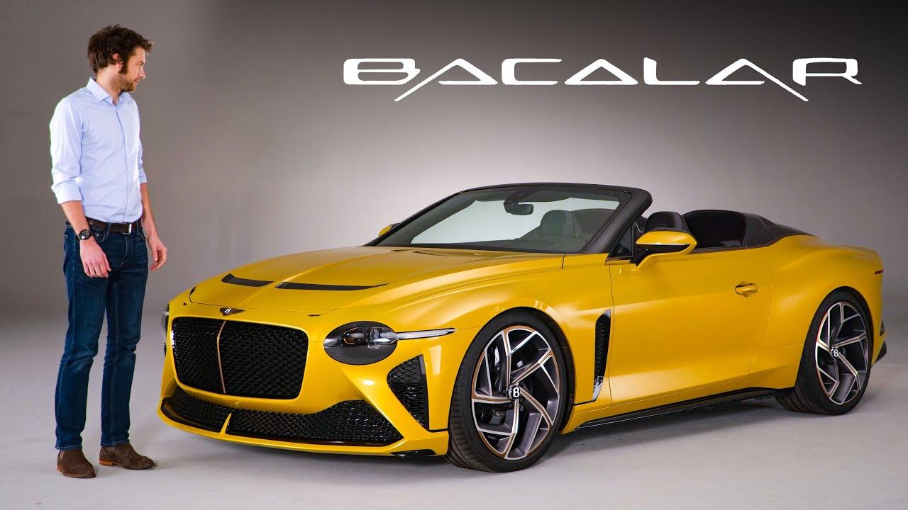 سيارة بنتلي باكلار الجديده سيطلق منها 12 سيارة فقط