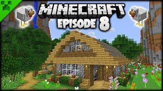 Automatic Minecraft Animal Barn! | Python's World (Minecraft Survival Let's Play) | Episode 8