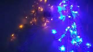 300edf842e4 SERIE NAVIDEÑA EN CASCADA DE 140 LUCES LED MULTICOLOR