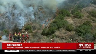 Super Scoopers Soar Over Fire In Pacific Palisades