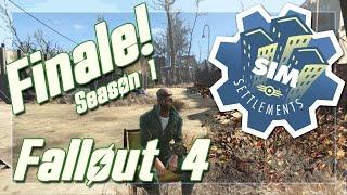 Fallout 4 Sim Settlements Season One Finale Modded