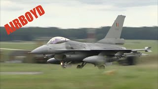 Belgian Air Component F-16s
