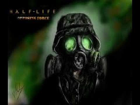 Half life opposing force gameplay with    CHEATS!    BTW Death at the end