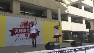 Zero-dash(福岡アイドル)「運命的瞬間」 肉フェスティバル20150328