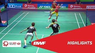 YONEX FRENCH OPEN 2018 | Badminton MD - QF - Highlights | BWF 2018