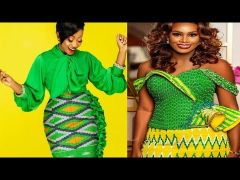 Gorgeous Super Stylish Long kitenge_kente Fashion Styles For 2021 African  Ghana Fashion Styles
