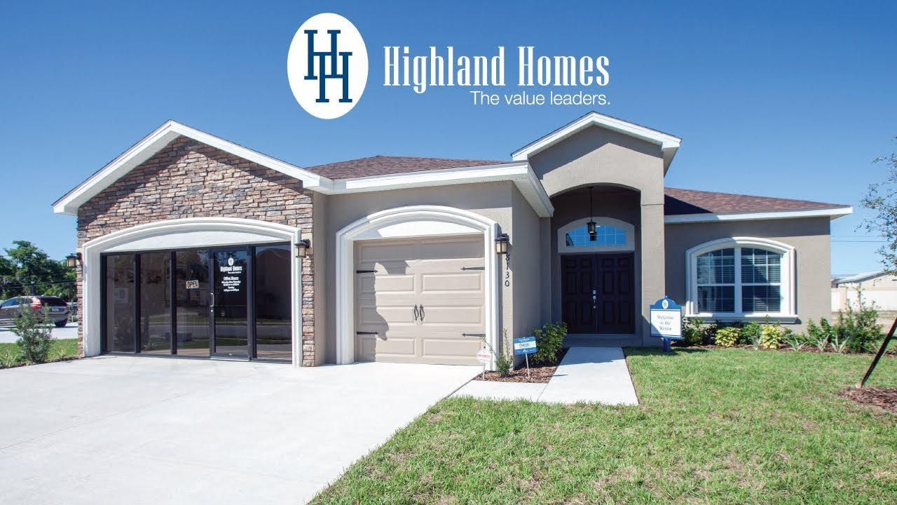 Westin Home Plan By Highland Homes Florida New Homes For Sale
