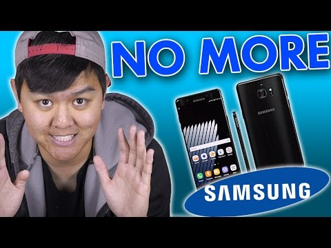 Why I Won't Buy Samsung Phones Anymore!