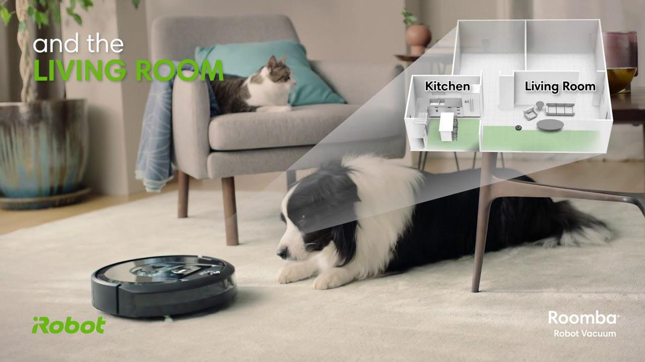 video iRobot Roomba i7+