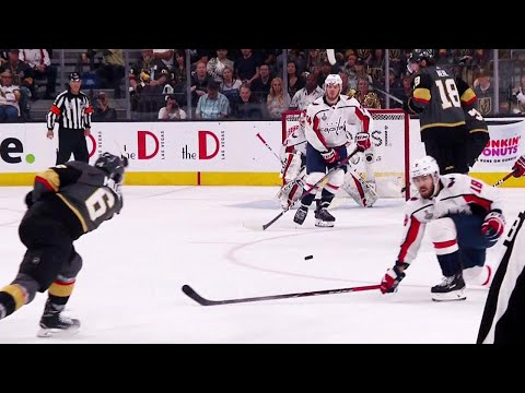 Miller's shot gets by Holtby as Golden Knights strike first